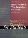 A Study Guide For Betty Friedans The Feminine Mystique