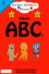 Blue Bear Red Square Present Wacky ABCs