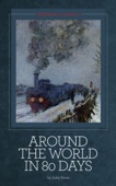 Around the World in 80 Days - Jules Verne Cover Art