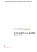 Solarstrom Basis