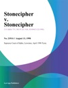 Stonecipher V Stonecipher