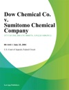 Dow Chemical Co V Sumitomo Chemical Company