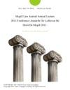 Mcgill Law Journal Annual Lecture 2011Conference Annuelle De La Revue De Droit De Mcgill 2011