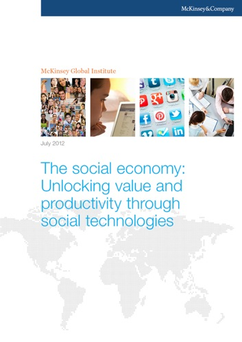 The Social Economy Unlocking Value and Productivity Through Social Technologies