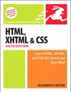 HTML XHTML And CSS Sixth Edition Visual QuickStart Guide