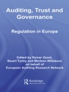 Auditing Trust And Governance