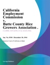 California Employment Commission V Butte County Rice Growers Association
