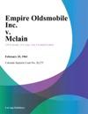 Empire Oldsmobile Inc V Mclain