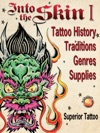 Into The Skin Book One Tattoo History Traditions  Genres  Supplies