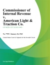 Commissioner Of Internal Revenue V American Light  Traction Co