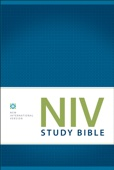NIV Study Bible, eBook, Red Letter Edition