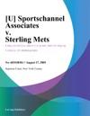 U Sportschannel Associates V Sterling Mets
