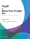 Mcgill V Bison Fast Freight Inc