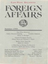 Foreign Affairs - Summer 1989