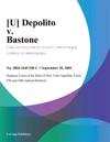 U Depolito V Bastone