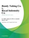 Bundy Tubing Co V Royal Indemnity Co