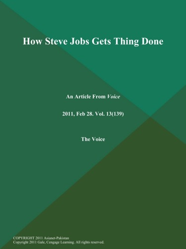 How Steve Jobs Gets Thing Done