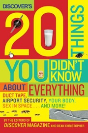 DISCOVERS 20 THINGS YOU DIDNT KNOW ABOUT EVERYTHING