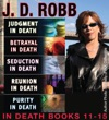 JD Robb  THE IN DEATH COLLECTION Books 11-15