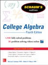 Schaums Outline Of College Algebra 4th Edition