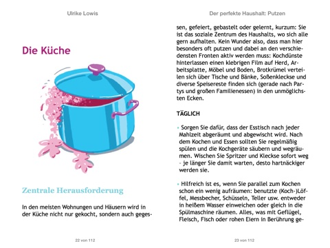 der perfekte haushalt putzen von ulrike lowis in ibooks. Black Bedroom Furniture Sets. Home Design Ideas