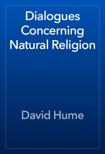 hume dialogues concerning natural religion