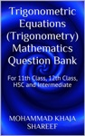 Trigonometric Equations Trigonometry Mathematics Question Bank