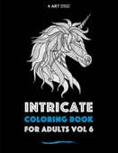 Intricate Coloring Book For Adults Vol 6