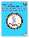 Virginia 7th Grade Math - Exponents And Square Roots
