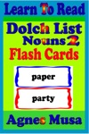 Dolch List Noun Flash Cards 2