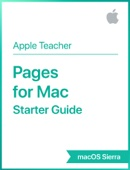 Pages for Mac Starter Guide macOS Sierra