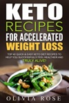 Keto Recipes For Accelerated Weight Loss  Top 40 Quick  Easy Keto Diet Recipes To Help You Successfully Feel Healthier And Truly Alive