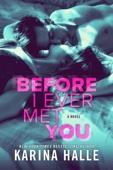 Karina Halle - Before I Ever Met You  artwork