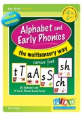 Alphabet and Early Phonics - the multisensory way