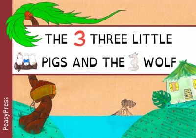 The three little pigs and the wolf