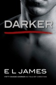 E L James - Darker  artwork