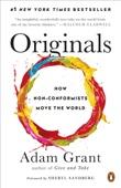 Originals - Adam Grant & Sheryl Sandberg Cover Art