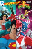 Justice League/Power Rangers (2017-) #1 - Tom Taylor & Stephen Byrne Cover Art