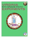 Virginia 6th Grade Math - Exponents