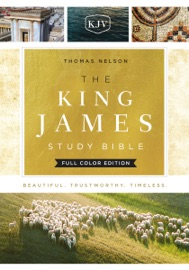 DOWNLOAD OF THE KING JAMES STUDY BIBLE, FULL-COLOR EDITION PDF EBOOK