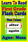 First Grade Flash Cards Dolch List Non Nouns