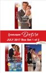Harlequin Desire July 2017 - Box Set 1 Of 2