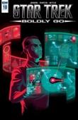 Star Trek: Boldly Go #10 - Mike Johnson Cover Art