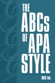 The Abcs of Apa Style
