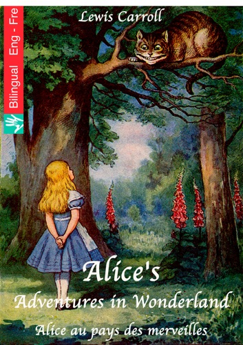 Alices Adventures in Wonderland English French edition illustrated