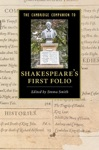 The Cambridge Companion To Shakespeares First Folio