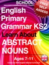 School English Primary Grammar KS2 Key Stage 2 Learn About Abstract Nouns Ages 7-11