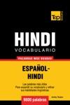 Vocabulario Espaol-Hindi 9000 Palabras Ms Usadas
