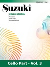 Suzuki Cello School - Volume 3 Revised