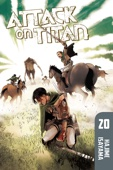 Attack on Titan Volume 20 - Hajime Isayama Cover Art